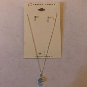 Lauren Conrad Necklace and Earrings